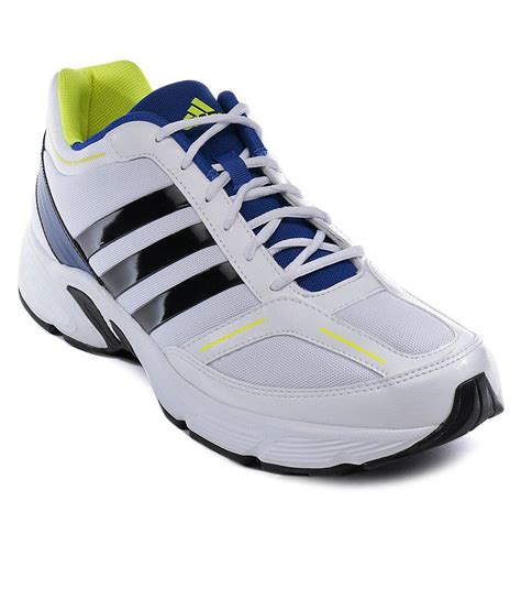 sports shoes addidas adidas vermont white sport shoes price in india buy