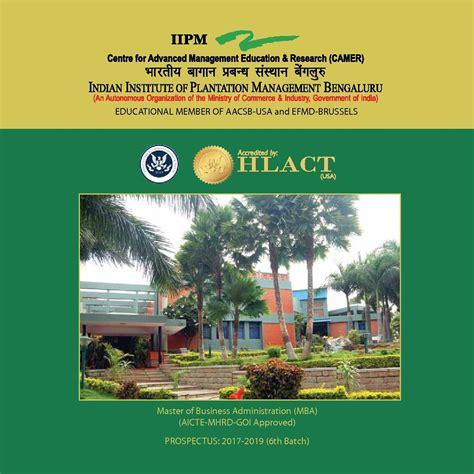 Iipm Fees For Mba 2010 by Indian Institute Of Plantation Management Iipm