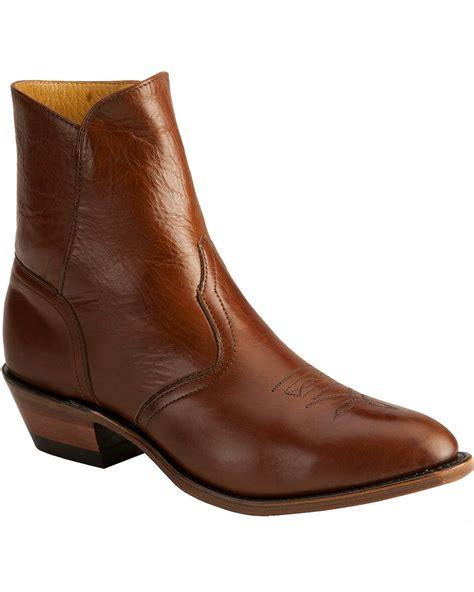 mens zipper dress boots boulet s 9 quot side zip western dress boots boot barn