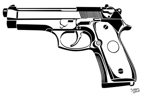 beretta 92fs by servantofentropy on deviantart