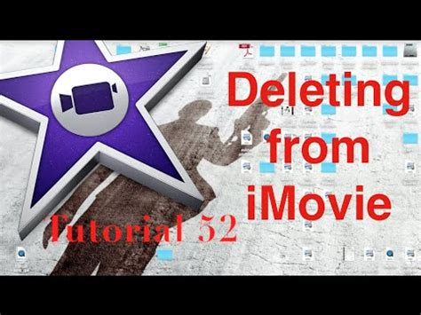 tutorial imovie 10 0 5 deleting videos and freeing space in imovie 10 0 5