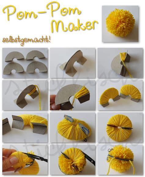 Pompon Selber Machen by Pom Pom Maker Selbstgemacht Nordahage