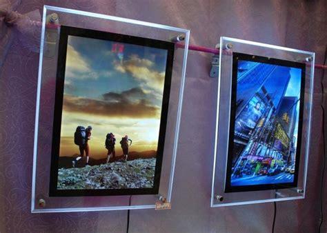 Akrilik Box 1 Draw plexiglass scrolling light box 3d v groove machine