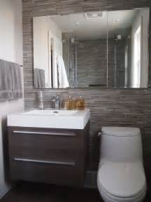 Modern Small Bathroom Design by Bathroom Reno In The Kingsway Contemporary Bathroom