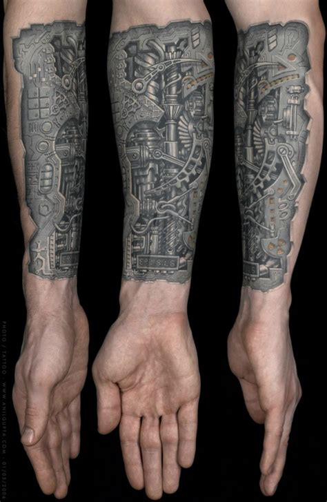biomechanical tattoo wrist 75 best biomechanical tattoo designs meanings top of