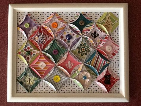 Paper Quilt Craft - paper quilt crafts circles patterns and