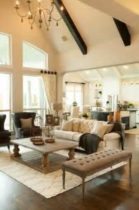 Traditional Home Interiors Living Rooms Phillips Creek Ranch Shaddock Homes Traditional