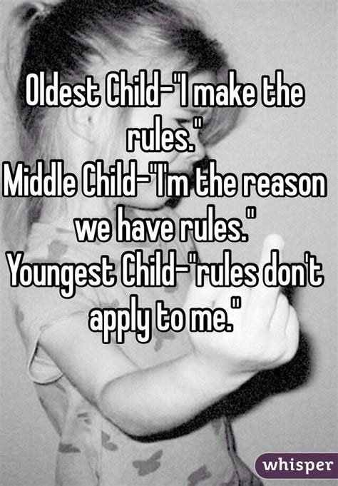 7 Reasons Vires Rule by 25 Best Ideas About Oldest Child On Middle