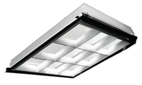 Office Light Fixture Shallow Parabolic 2x2 Grid Light Fixtures 2x2 Parabolic Office Light Fixture