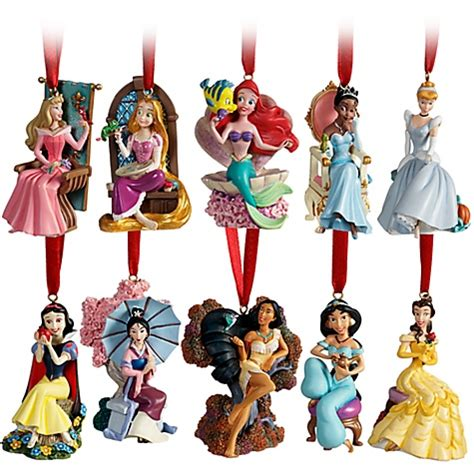 disney store princess christmas ornament set for trade or
