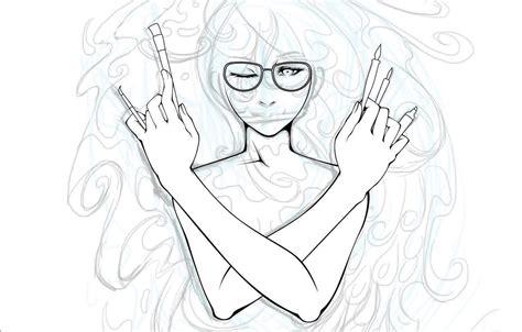 manga line art photoshop tutorial photoshop tutorial brilliant linework and shading