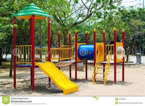 Outside Playhouse Plans park playground stock photo image of colorful empty