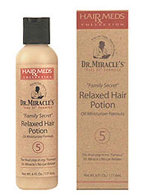 dr miracle hair dr miracle s relaxed hair potion naturallycurly