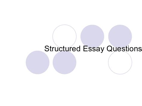 history structured essay questions answering structured essay questions