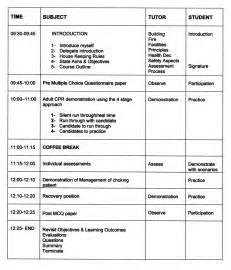 cpr lesson plan hmg resuscitation saving lives through