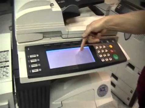 how to m how to get a meter reading kyocera 3035 4035 5035