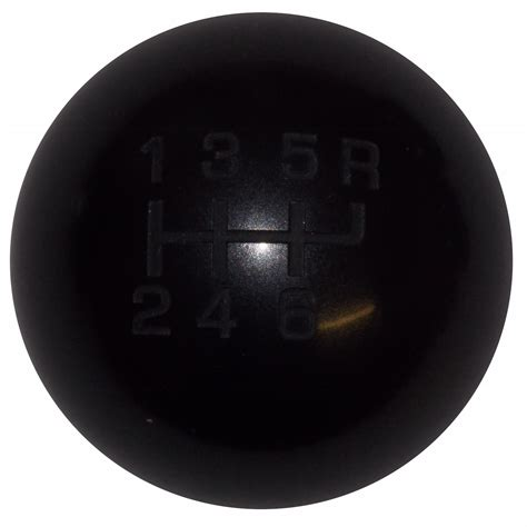 Heavy Shift Knob by Heavy Weight Composite Black 6 Speed Shift Knob