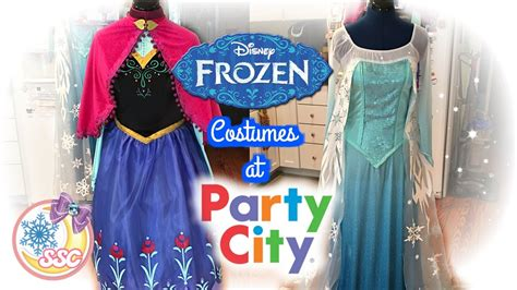 disney frozen costumes  party city review youtube