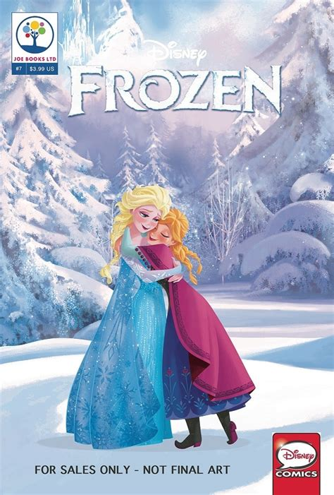 disney olaf s frozen adventure cinestory comic books joe books disney comics april 2017 solicitations the
