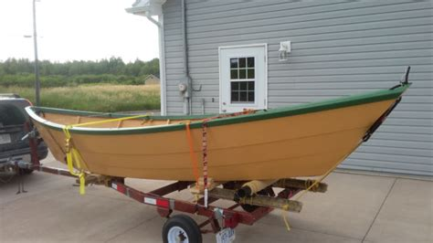 wooden dory boat for sale shelbourne dory hand made wooden boat for sale