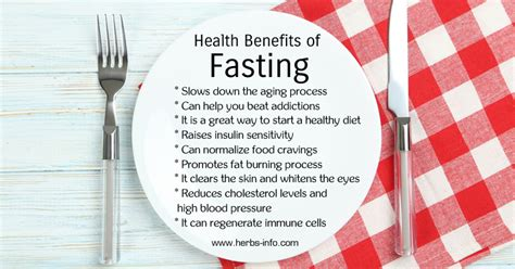 fasting benefits health benefits of fasting herbs info