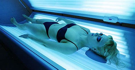 sun beds girl who used sunbeds from age of 12 diagnosed with skin