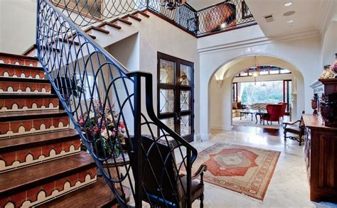 Banisters For Stairs Interior Designs That Revive The Wrought Iron Railings