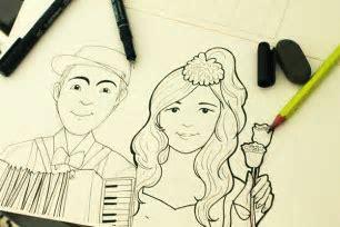 A Wedding Gift: Happy Wedding Day, Ghilky & Khani. on Behance