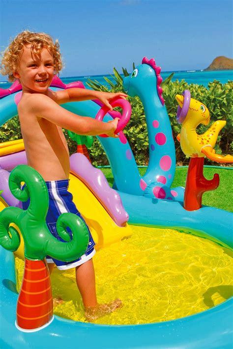 Kolam Renang Dino intex dinosaur water play center 333cm x 229cm x 112cm