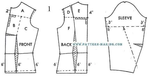 pattern drafting yokes drafting blouse with yoke pattern making com