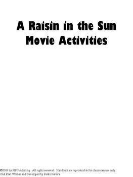 a raisin in the sun themes pdf enflourish publishing teaching resources teachers pay