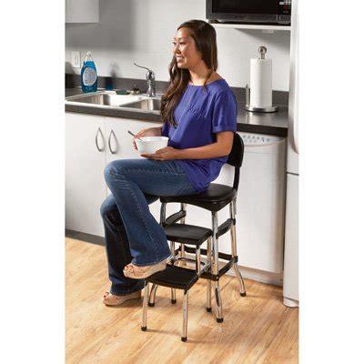 Cosco Chair Step Stool Black by Cosco Black Retro Counter Chair Step Stool Black