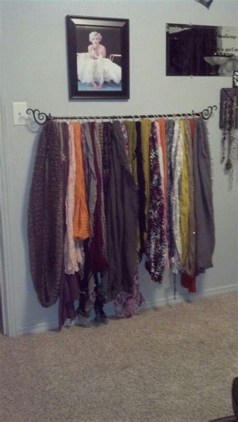 organize scarves in closet organization scarves organization