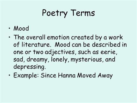 sad themes literature poetry unit ppt video online download