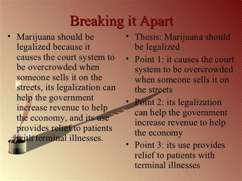 thesis statement for legalizing marijuana college writing cinderella
