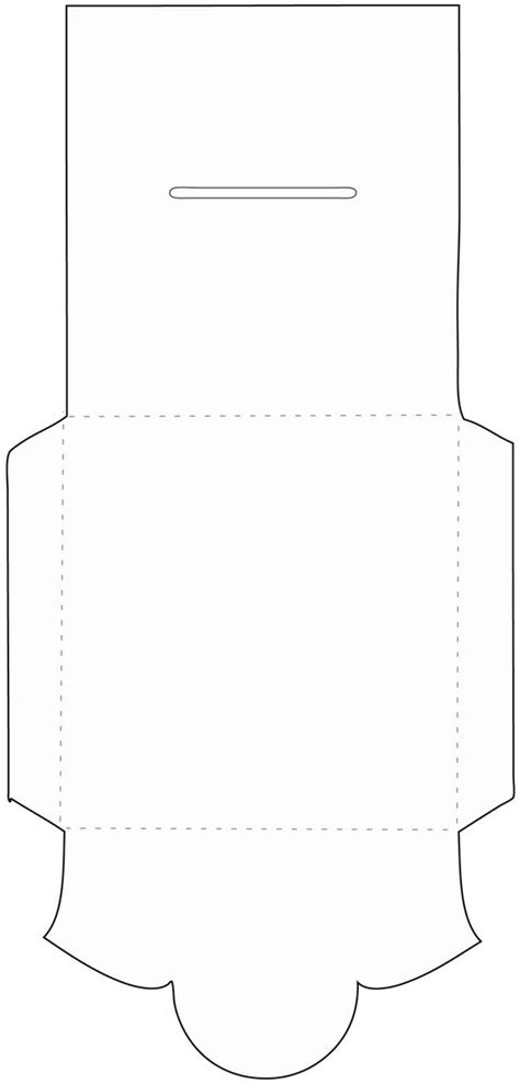free printable envelope pdf cd envelope template paper craft pinterest wedding