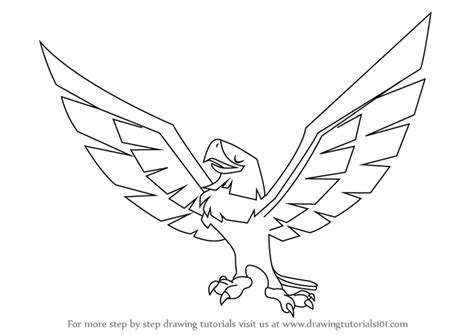 animal jam coloring pages eagle learn how to draw eagle from animal jam animal jam step
