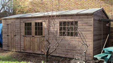 Garden Shed Windows Designs Bespoke 20 X 10 Garden Shed By Sheds Unlimited