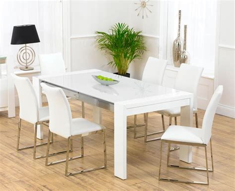white kitchen tables modern dining room sets for sale home interior design
