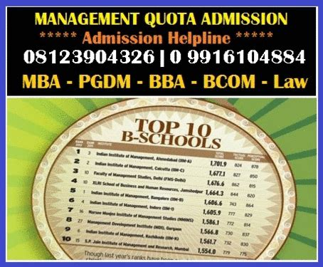 Ms Ramaiah Mba Admission 2017 by Direct Admission Ms Ramaiah Institute Bangalore Mba Pgdm