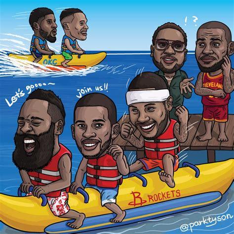 banana boat lebron picture banana boat bball player toon pinterest nba and chion