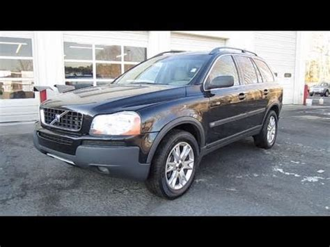 volvo xc  awd start  engine   depth  youtube