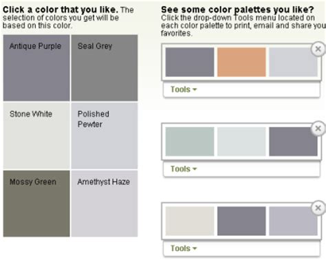 color pairing tool color scheme and palette generator tool by glidden my