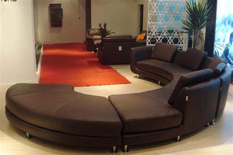 curved contemporary sofa contemporary curved sofa modern home interiors elegant