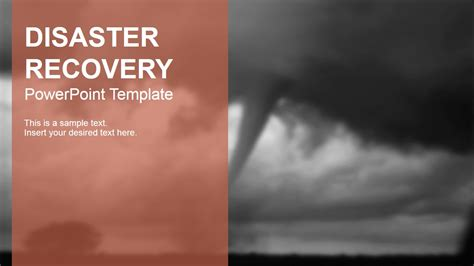 Disaster Powerpoint Templates Free Disaster Recovery Powerpoint Template Slidemodel