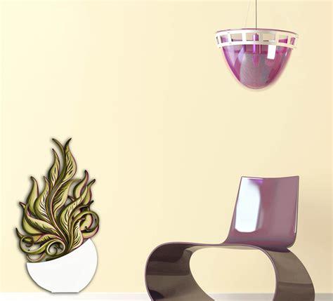 vasi fiori design quadro da bassa parete dal design moderno vaso con fiori
