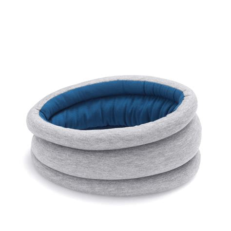ostrich pillow light sleepy blue ostrich pillow light