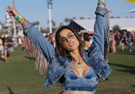 alessandra ambrosio coachella 2018 who wore what 10 outrageous outfits from coachella 2018
