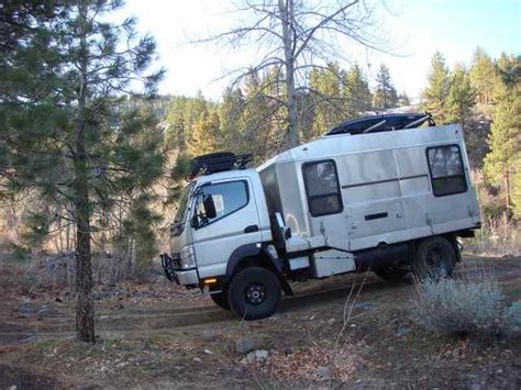 Mitsubishi Fuso 4x4 Expedition Vehicle Only 85 000 I Can