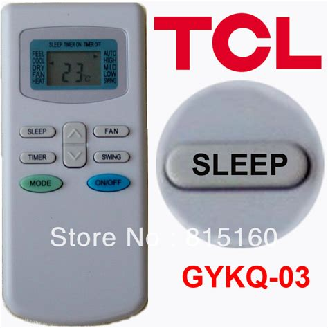 Remot Ac Lg Original Promo Promo Promo aliexpress buy tcl remote controller for split and portable air conditioner gykq 03 4